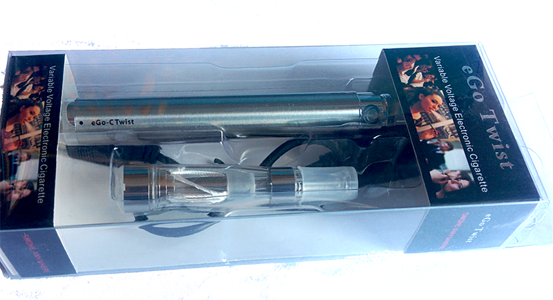 ego twist elektronická cigareta v blister balení